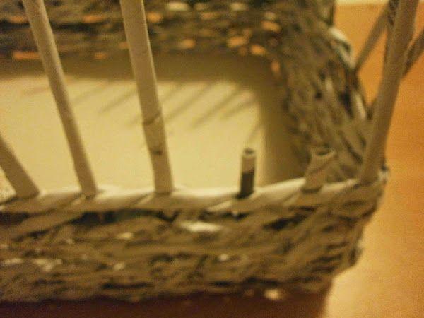 DIY: Cómo hacer una cesta de papel de periódico