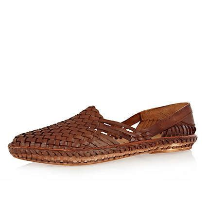 Mens Shoes Boots, Loafer Shoes, Boots Sale, River Island, Woven Shoes Men, Men'S Slip On Shoes, Shoe Boots, Men Shoes, Mens Slip On Shoes