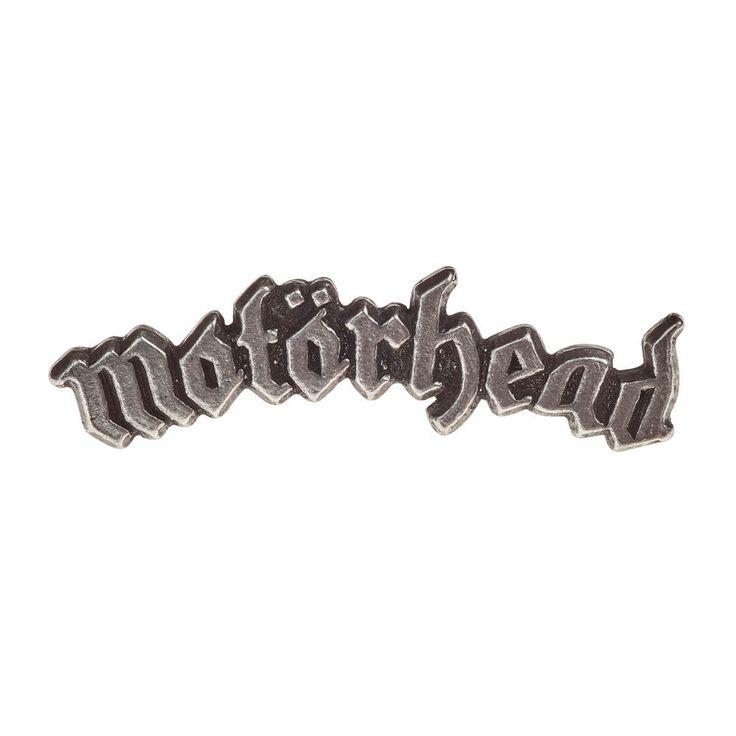Alchemy Gothic Motorhead logo pin, badge tin - Metal, Rock - Alchemy G