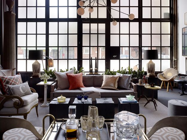 perfect, layered, masculine chic aesthetic at Cavalier: Modern Interiors Design, Jay Jeffers, Living Rooms Design, Gardens Design Ideas, Design Interiors, Home Interiors Design, Modern Houses Design, Design Home, San Francisco
