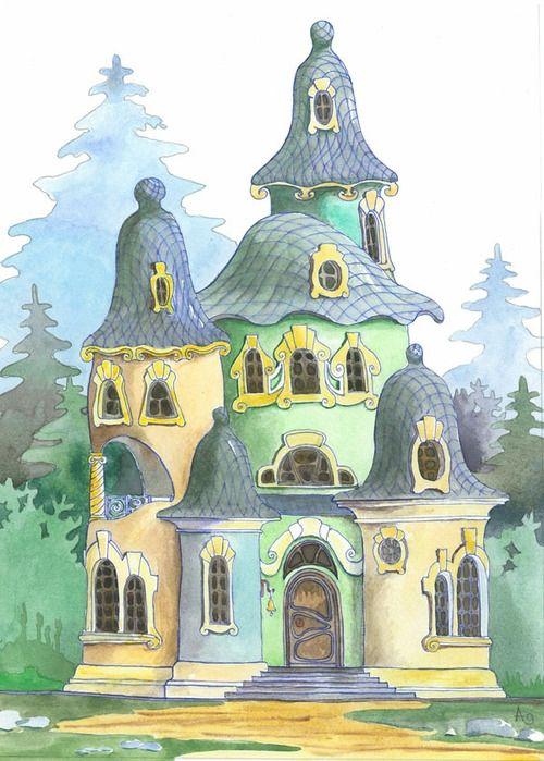 Головина Анастасия Дом-колокольчик для Самодержца
