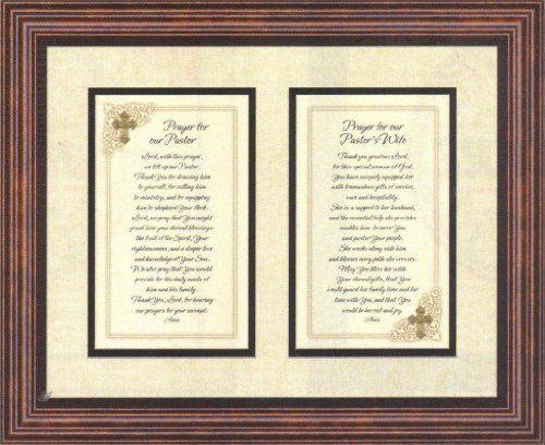 Prayer for Pastor and Pastor's Wife Heartfelt Appreciation ...