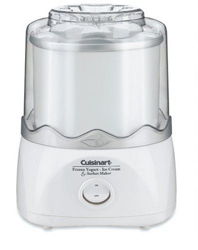 Special Offers - Cuisinart ICE-20FR Automatic Frozen Yogurt-Ice Cream & Sorbet Maker White (Certified Refurbished) - In stock & Free Shipping. You can save more money! Check It (November 24 2016 at 02:59AM) >> http://standmixerusa.net/cuisinart-ice-20fr-automatic-frozen-yogurt-ice-cream-sorbet-maker-white-certified-refurbished/