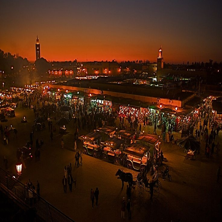 "#Marrakech is fondly referred to as the ""Rose City"" or ""Red City"""