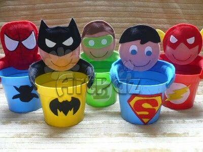 Dulcero super heroes