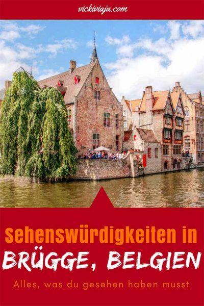 Brügge Sehenswürdigkeiten - Alles, was du über Brügge wissen musst. + Ein Vergleich zwischen Gent und Brügge I Brügge City Guide I Bruges I Brugge I Gent oder Brügge I Vergleich I Belgien I City Trip I #Brügge #Belgien