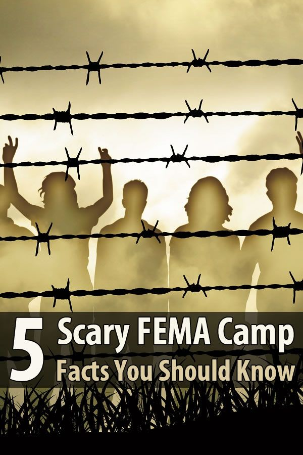 One reason I'm a prepper is because I don't want to end up in a FEMA camp during a disaster. They are underfunded and woefully incompetent.