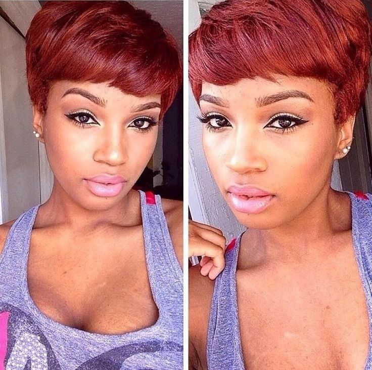 17 Best Ideas About Red Pixie Haircut On Pinterest Red