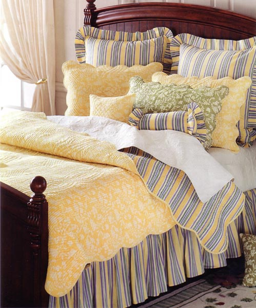 9 best images about master bedroom on pinterest duvet - Navy blue and yellow bedding ...