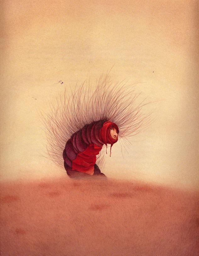 çizgili masallar: Rebecca Dautremer, Alice in Wonderland