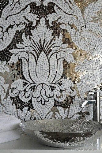 Badezimmer Mit Mosaiken Gestalten   Kreative Wohnideen