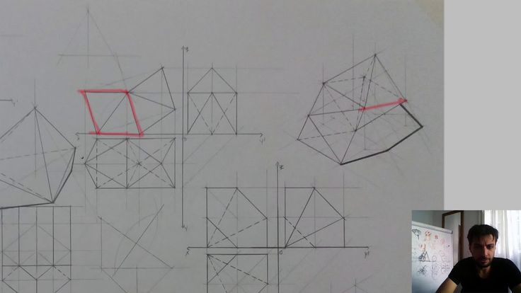 📐Pentagonal And Hexagonal Pyramids - What To Do And How To Draw Them