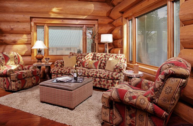 2568 best a western rustic home images on pinterest a for Log cabin furniture store