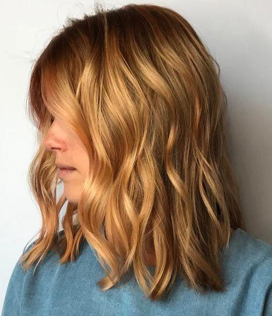 Медово-карамельный блонд
