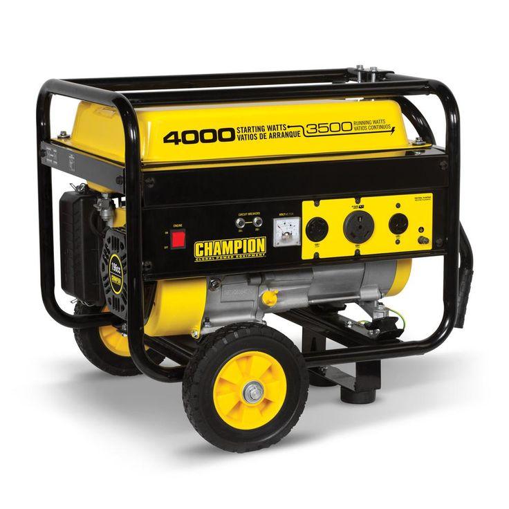 Champion Power Equipment 3,500Watt Gasoline Powered