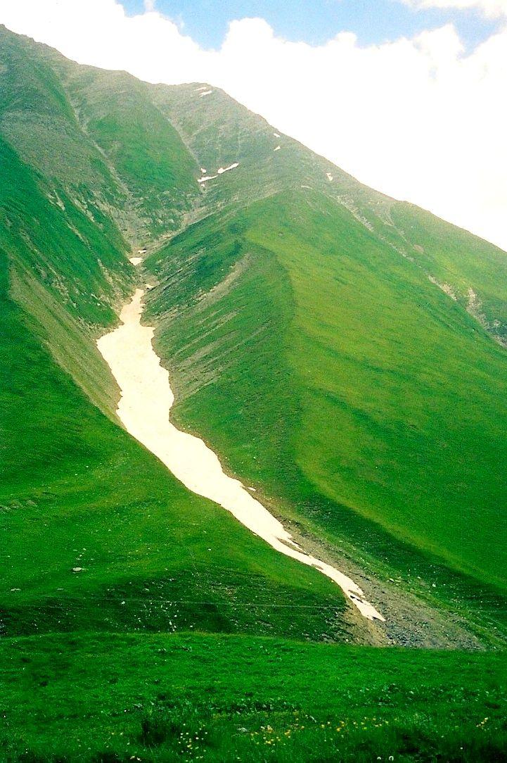Khevi Province - Kazbegi Region - Caucasus Mountains - Republic of Georgia