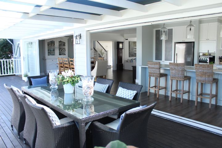Blue and White, Hamptons, American Style - our home - GEORGICA POND INTERIORS