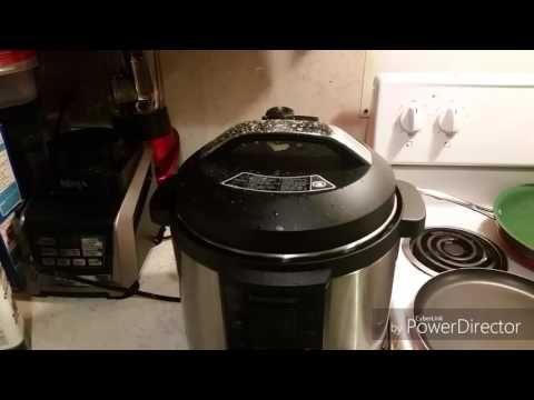Farberware 7-in - 1 Pressure Cooker chicken soup - YouTube