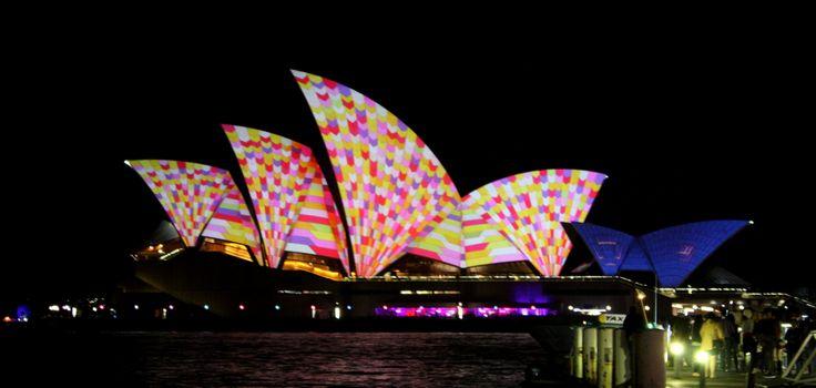 Sydney Opera House VIVID 2014