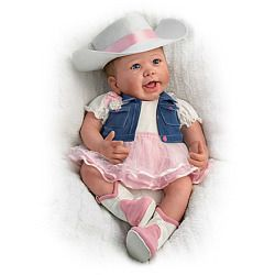 Chesney Country Style Baby Doll - Realistic Baby Dolls
