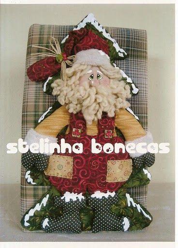 Papai Noel com 2 moldes