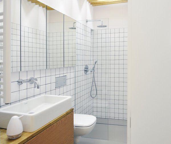 Minimalistyczne mieszkanie w Nikiszowcu w Katowicach. Projekt: MUS ARCHITECTS. - zdjęcie