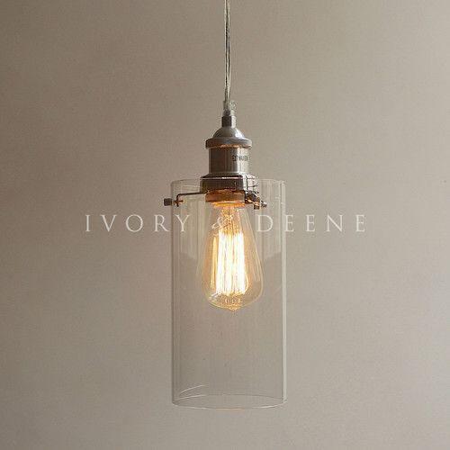 Ivory & Deene Allira 1 Light Pendant $94 wayfair