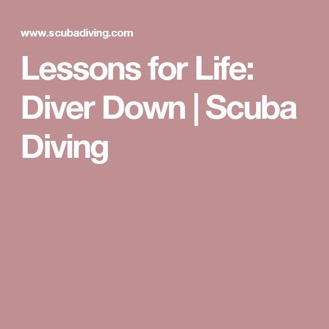 Lessons for Life: Diver Down | Scuba Diving http://www.deepbluediving.org/suunto-zoop-novo-dive-computer-review/