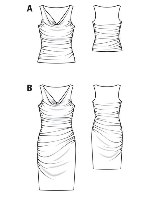 568 best images about to sew on pinterest diy dress for Cowl neck wedding dress pattern