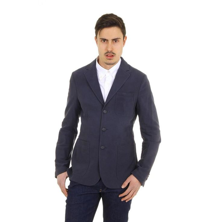 Dark Blue 46 IT - 46 US Giorgio Armani mens blazer RSG02W RS930 918