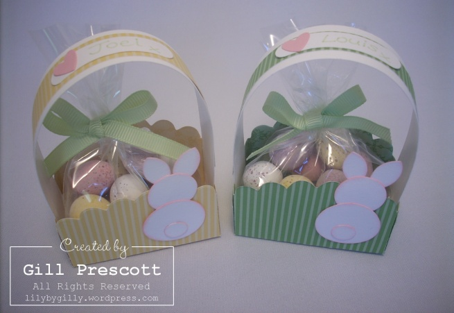 Stampin' Up! - Easter baskets