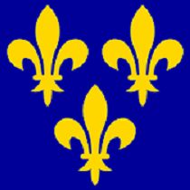 Flag of The Kingdom of France (13th Century)