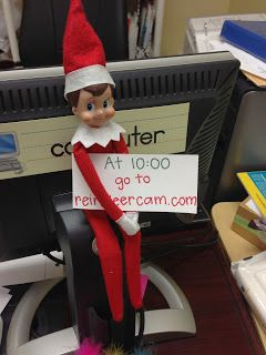 K-3 Connection: Elf on the Shelf use as a prompt during writing workshop
