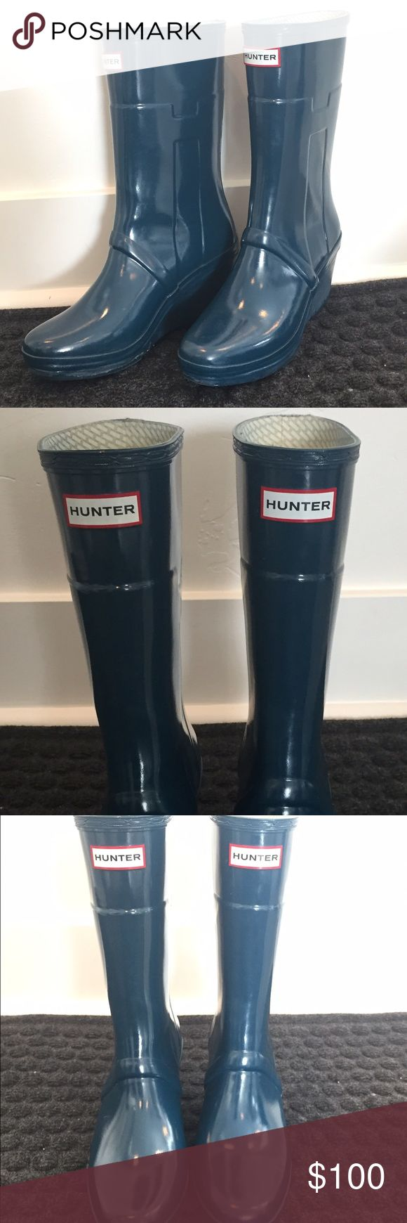Hunter boots kellan rare size 9 Hunter boots kellan size 9. Rarely worn. Worn only with hunter boot liners. Slight scuffs. Nothing major. Great condition. 100% authentic. I offer a 20% bundle discount on 2 or more items and usually ship out next day (same day if you buy before the postman does the package pickup)! Hunter Boots Shoes Winter & Rain Boots