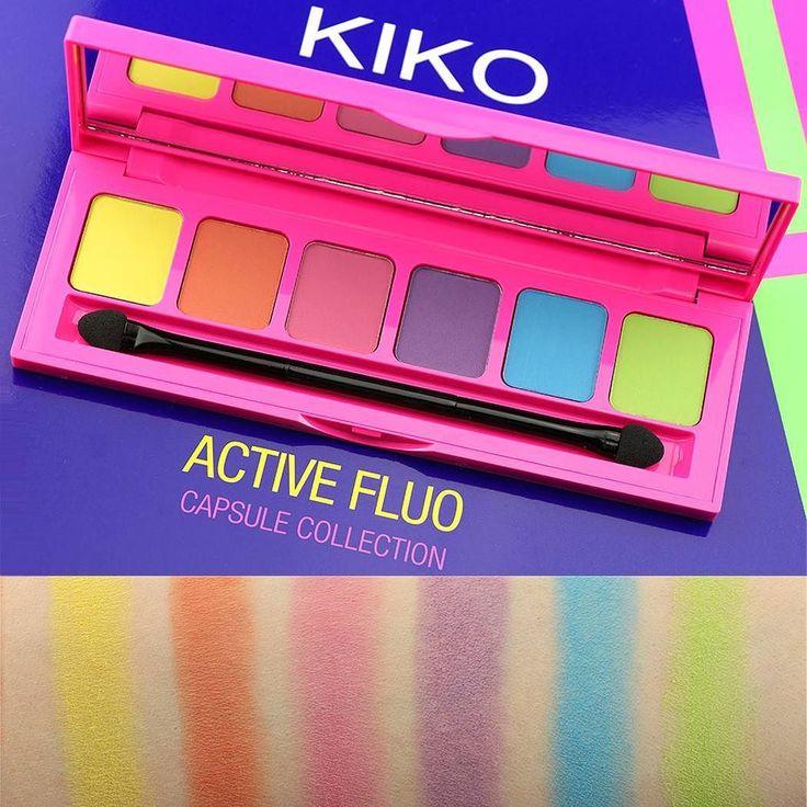 Un'esplosione di colori neon per un trucco occhi pazzesco!  Ecco gli swatches della nuova palette Active Fluo @kikomilano!!  Costa 12.95 euro e contiene sei ombretti opachi dalle nuance fluo super accese e vibranti!   QUANTO VI PIACE DA 1 A 10? Trovate sul nostro sito www.beautydea.it la preview con info e prezzi di tutta la collezione Kiko Active Fluo!  #kiko #kikomilano #kikocosmetics #activefluo #kikoactivefluo #makeup #summermakeup #makeupcollection #makeupnews #news #preview #neon…