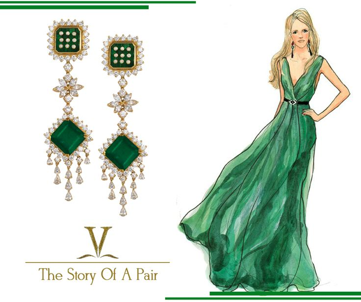 Look fabulous all the way. Captivate everyone by pairing this fabulous earrings with your evening ensemble.