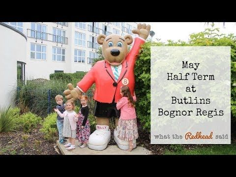 A Half Term Break at Butlins - Bognor Regis {Part 1 - Accomodation and Food} - What the Redhead said