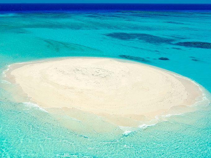 Atoll de Beautemps Beaupré à Ouvéa - Nouvelle Calédonie - Pacifique
