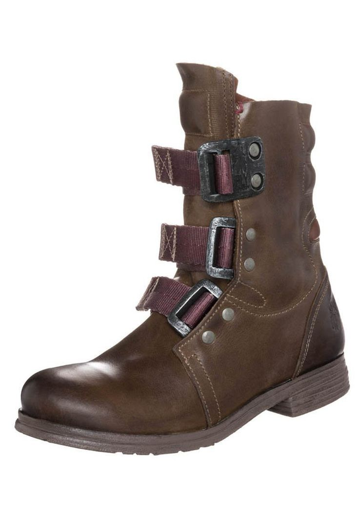 Womens STIF - Lace-up boots - brown Ladies Ankle Boots Footwear | Fly London: Amazon.co.uk: Shoes & Bags
