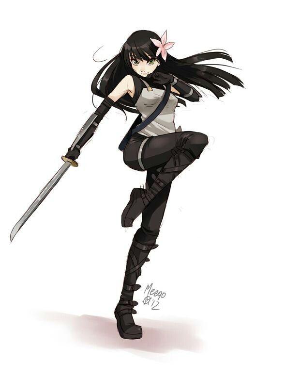 Pin By Brianne On Naruto Anime Ninja Anime Characters Ninja Girl