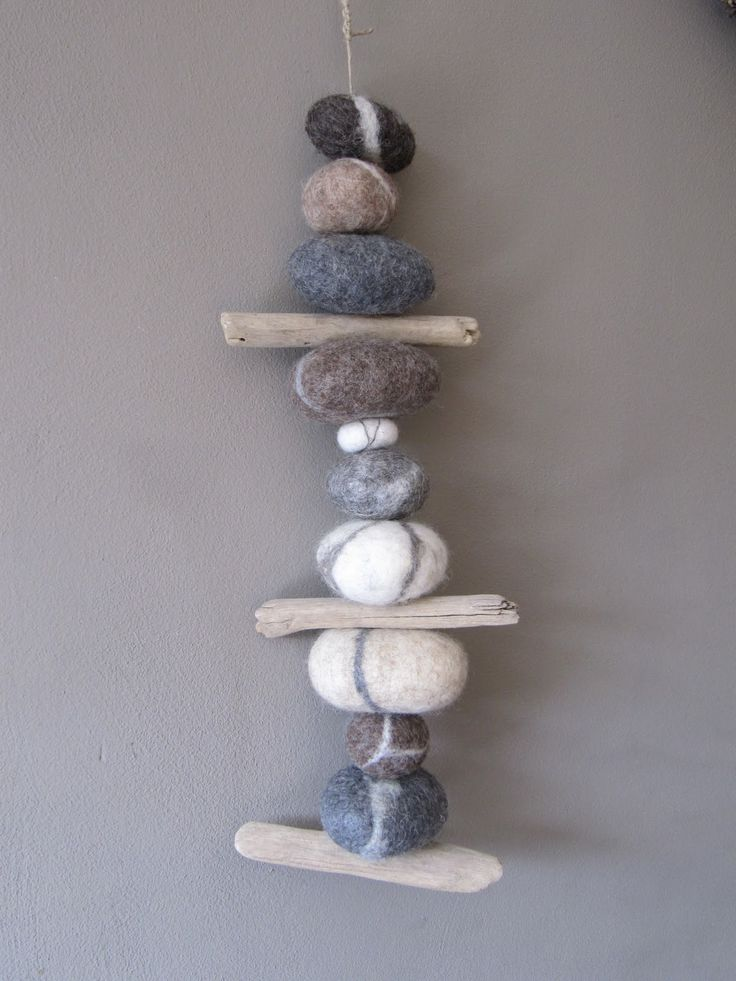 17 best images about felted rocks on pinterest studios for Felted wool boulders