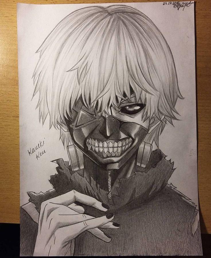 """@arteyata On Instagram: """"Done! My Drawing Of Kaneki Ken"""