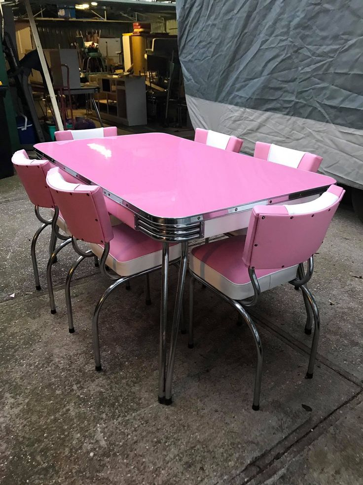 Vintage dining setting for 6 $1700