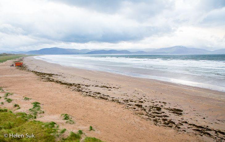 inch beach ireland, kerry, dingle