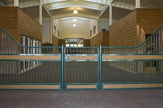 Entry Gates | Rockin J Equine | horse stall doors, horse stalls for sale, horse barn doors, metal horse stalls, barn stall doors, horse barns and stalls