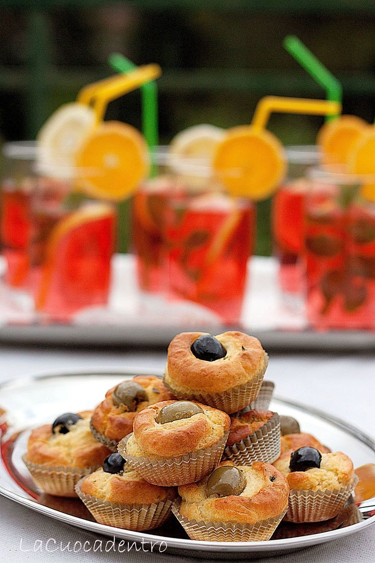 Mini Muffins alle due olive