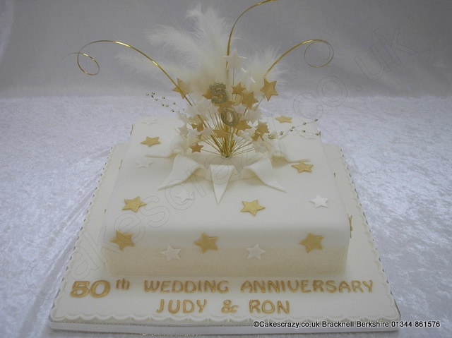 a0ebaf6b0897bfaff9c88f808cb19d07  th anniversary cakes golden wedding anniversary Images Of Th Wedding Anniversary Cakes