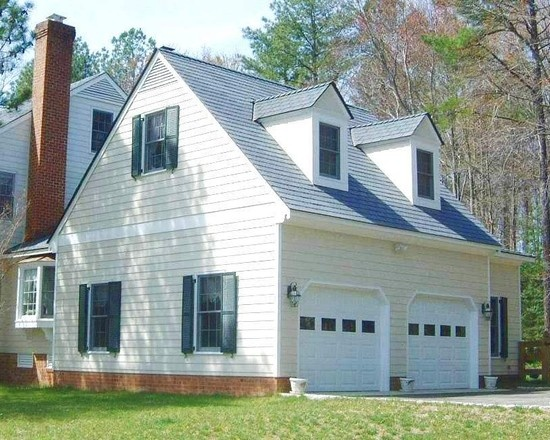 Mejores 37 im genes de house plans home plan house design for Colonial garage