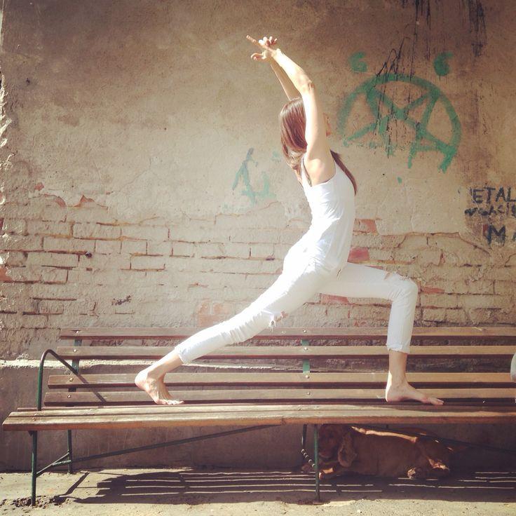 Małgo by  #yogaontherocks