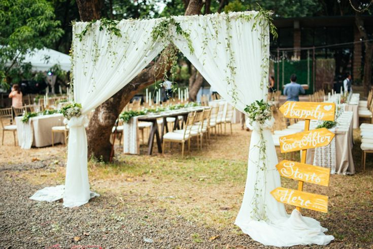 A Rustic Garden Wedding in Antipolo, Philippines